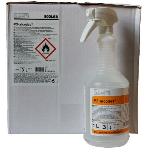 Ecolab P3 Alcodes 12x1 ltr.