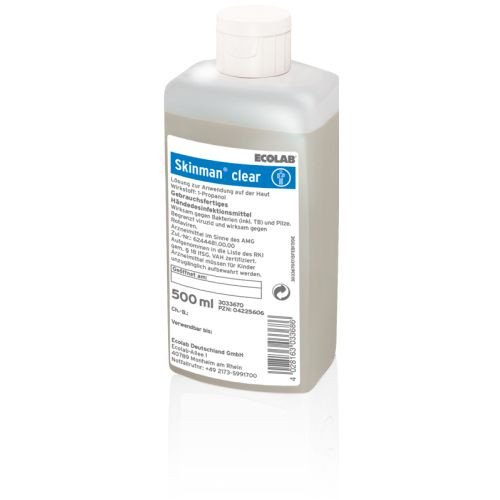 Ecolab Skinman clear 500 ml