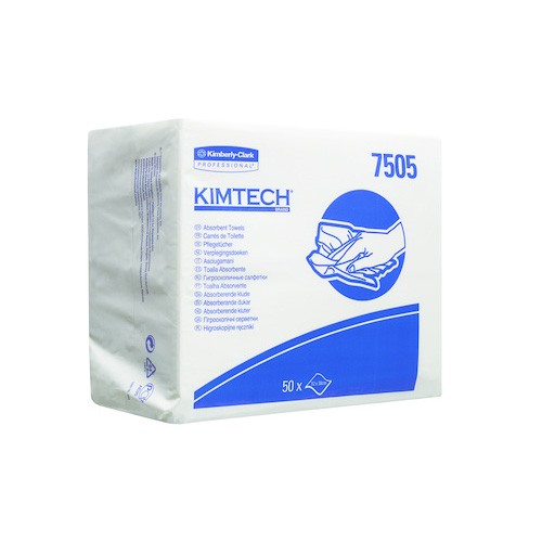 Kimberly-Clark 7505 Kimtech Pflegetücher - Zupfbox