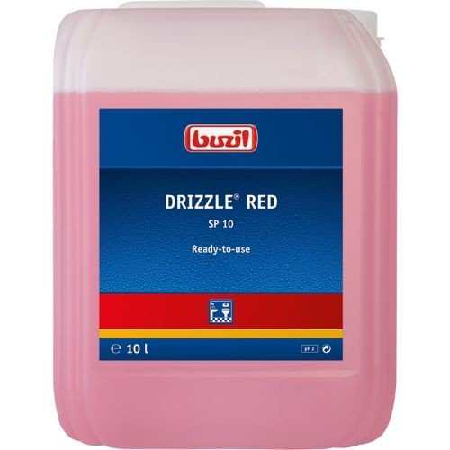 Buzil SP 10 Drizzle red 10 ltr.