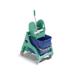 Einfachfahreimer TTS Nick grün Reinigungswagen