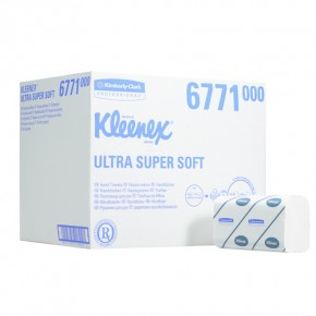 Kimberly-Clark 6771 Kleenex Ultra Super Soft Handtücher