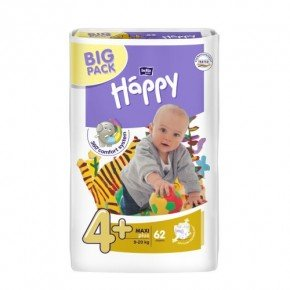 Bella Happy Babywindeln Maxi Plus Gr. 4+